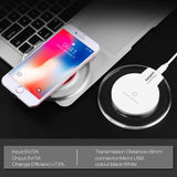 Qi Wireless Charger for Samsung Galaxy S8 S8Plus Suntaiho Fashion Charging Dock Cradle Charger for iphone XS MAX XR 8 Plus phone