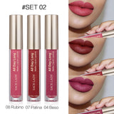 SACE LADY Matte Lipstick Set Liquid Lip Stick Makeup Long Lasting Red Nude Lipgloss Tint Make Up Kit Waterproof Brand Cosmetic