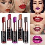 SACE LADY Ultra Moisturizer Makeup Lipstick Long-lasting Sexy Paint Lip Stick Pumpkin Red Pigment Velvet Wholesale Cosmetic