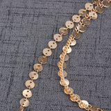 Multi-layer Sequins and Chain Set
