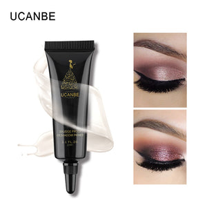 UCANBE Brand Base Eyeshadow Primer Cream Makeup Full Coverage Flaws Pore Concealer Long Lasting Anti-sweat Eye Shadow Foundation