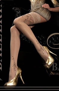 BALLERINA 182 Hold Up Beige