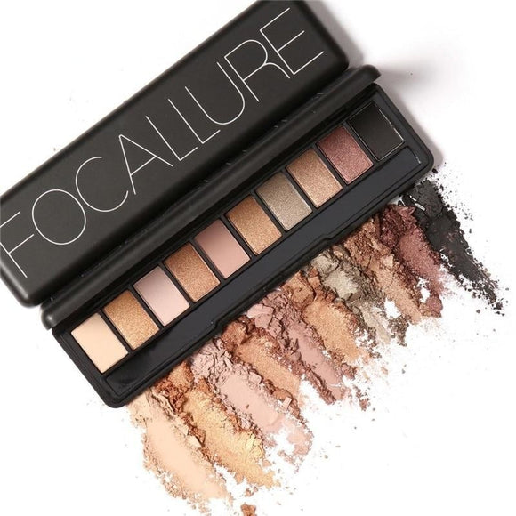 Focallure 10Pcs Makeup Palette - 4 shades available