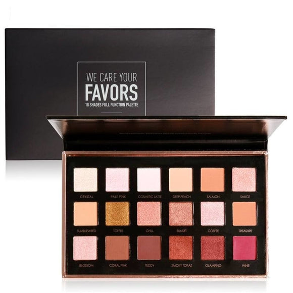 Focallure - 18 Colour Eye shadow Palette