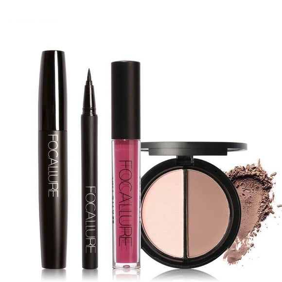 Focallure 4 piece make up set-Mina e-bazaar