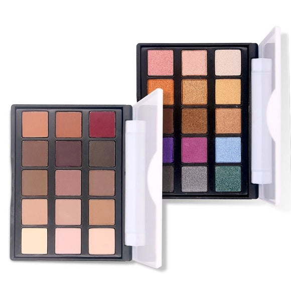 Popfeel 15 Colour Eye shadow Palette