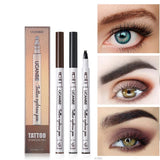 UCANBE Brand Fine Sketch Eyebrow Pencil Makeup Waterproof Durable Tattoo Smudge-proof Pigmented Eye Brow Pen Enhancers Cosmetics