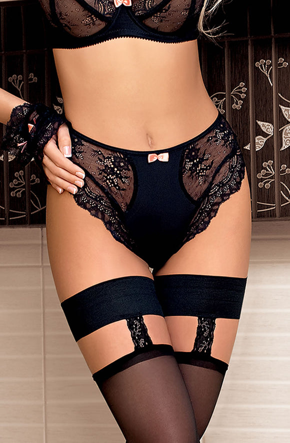 Roza Ambre Brief Black