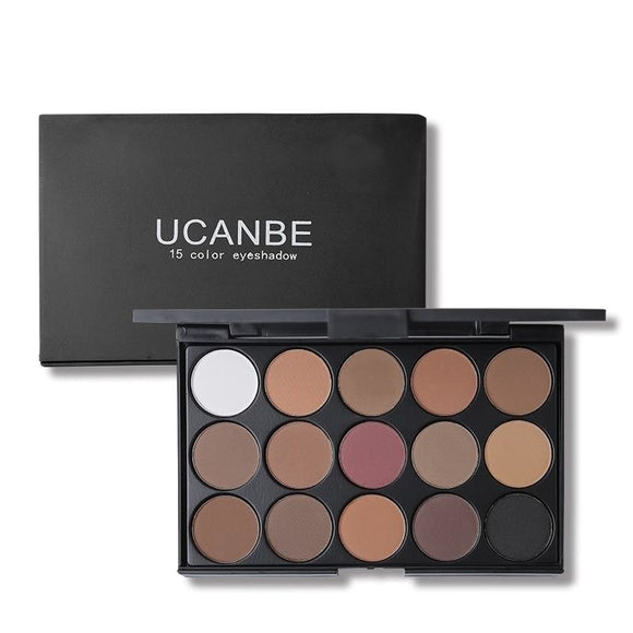 UCanBe 15 Colour Matte Eye shadow Palette