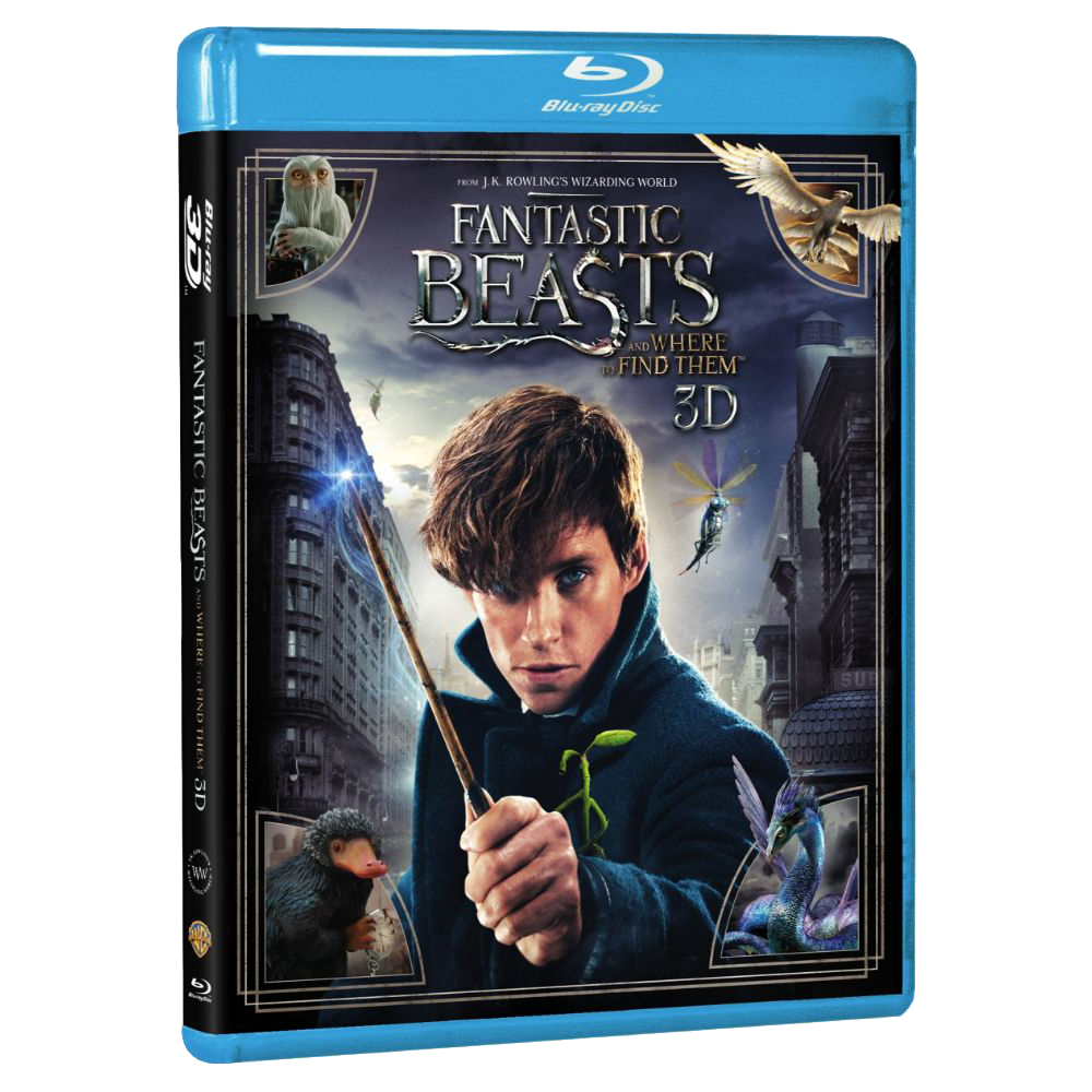 Fantastic Beasts and Where to Find Them™ 3D (Blu-ray 3D)