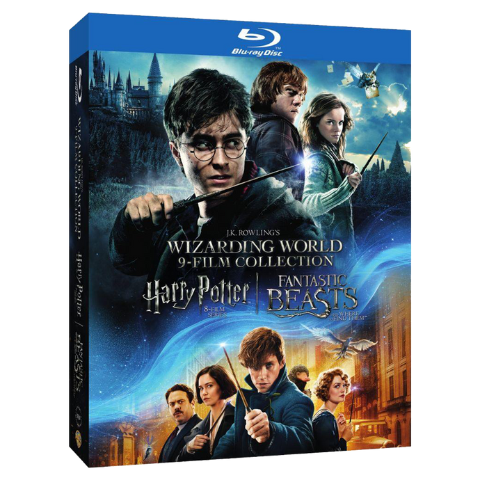 Wizarding World™ 9-Film Collection (BD)
