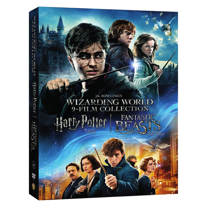 Wizarding World™ 9-Film Collection (DVD)