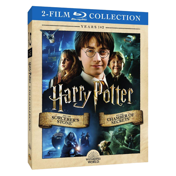 Harry Potter and the Sorcerer's Stone™/Harry Potter and the Chamber of Secrets™ (2-Film Collection) (BD)