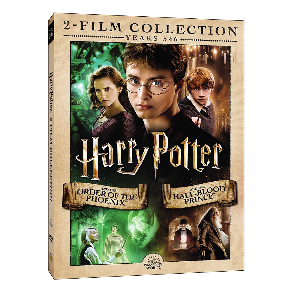 Harry Potter and the Order of the Phoenix™/Harry Potter and the Half-Blood Prince™ (2-Film Collection) (DVD)