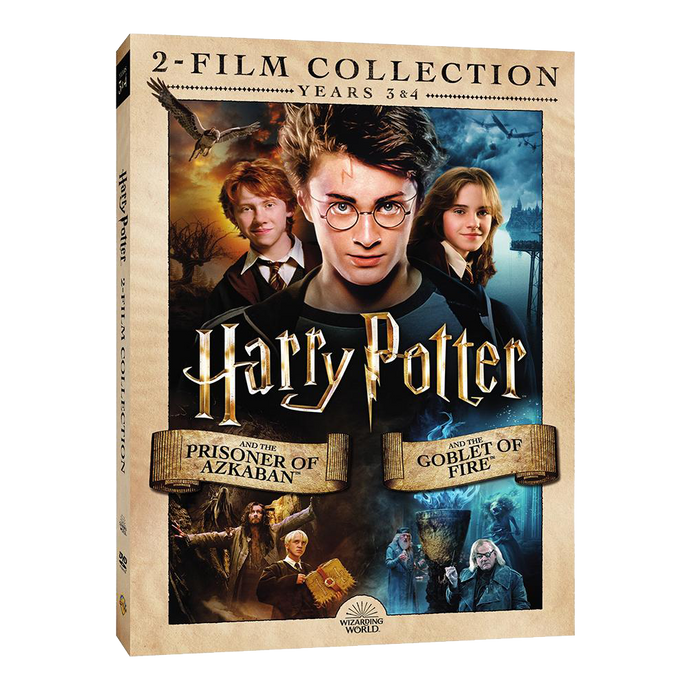 Harry Potter and the Prisoner of Azkaban™/Harry Potter and the Goblet of Fire™ (2-Film Collection) (DVD)