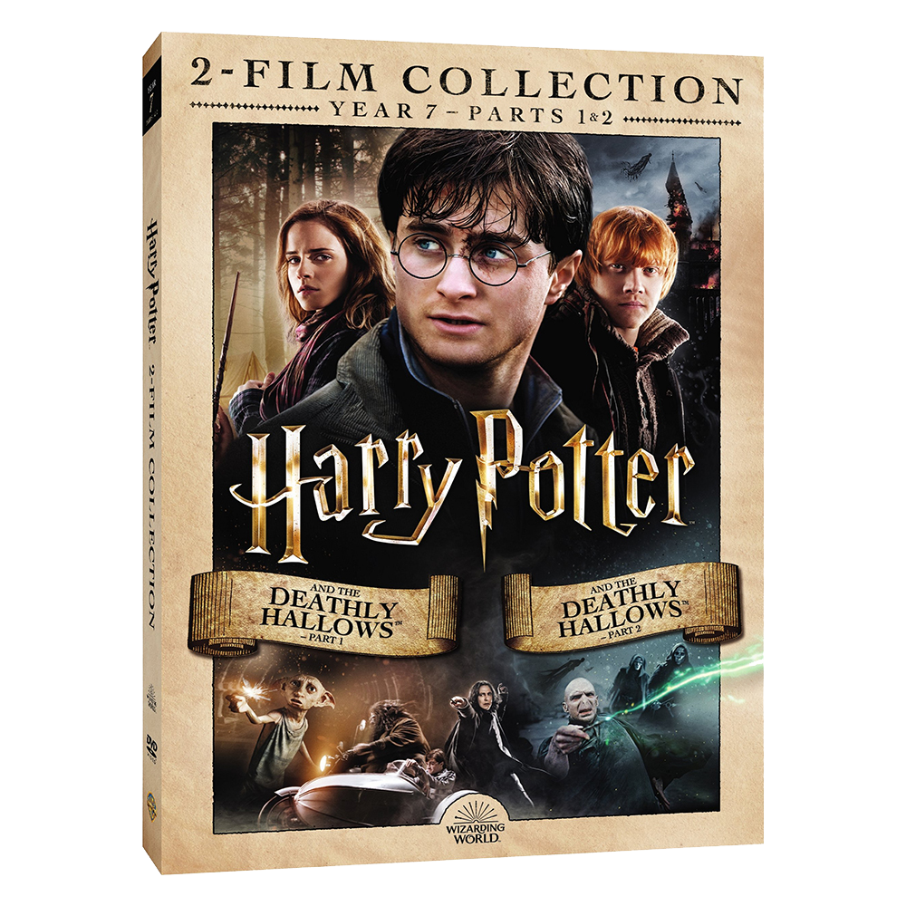 Harry Potter and the Deathly Hallows™ - Part 1/Harry Potter and the Deathly Hallows - Part 2 (2-Film Collection) (DVD)