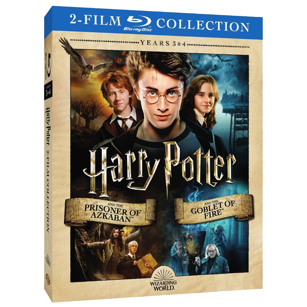 Harry Potter and the Prisoner of Azkaban™/Harry Potter and the Goblet of Fire™ (2-Film Collection) (BD)