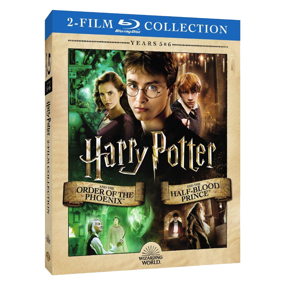 Harry Potter and the Order of the Phoenix™/Harry Potter and the Half-Blood Prince™ (2-Film Collection) (BD)