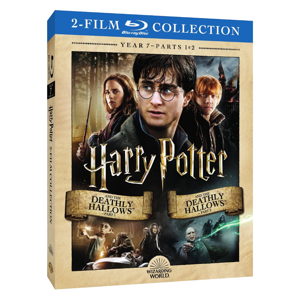 Harry Potter and the Deathly Hallows™ - Part 1/Harry Potter and the Deathly Hallows - Part 2 (2-Film Collection) (BD)