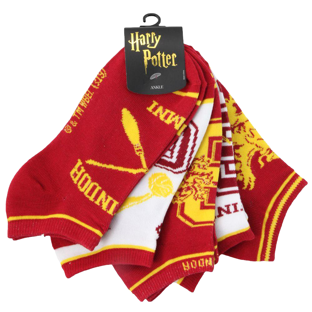 Gryffindor™ Juniors Ankle Socks 5-Pack
