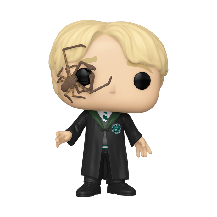 Draco Malfoy with Whip Spider Funko Pop! Vinyl Figure
