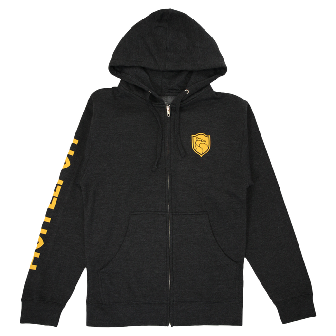 Hufflepuff™ House Crest Zip-Up Hoodie