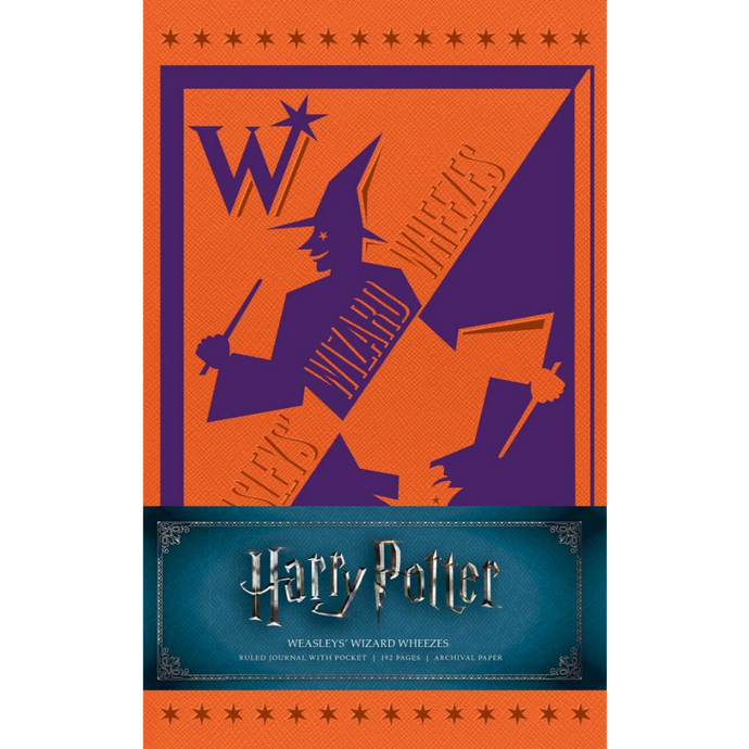Weasley's Wizard Wheezes Hardcover Ruled Journal