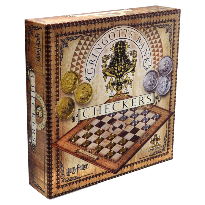 Gringotts Bank Checkers Set by The Noble Collection
