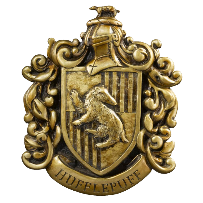 Hufflepuff™ House Crest Wall Art by The Noble Collection
