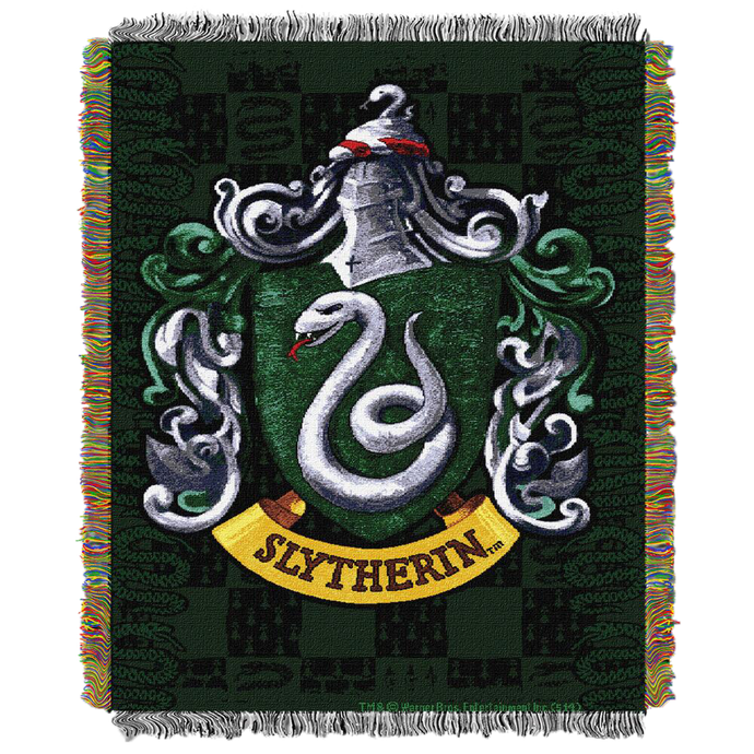 Exclusive Slytherin™ Crest Tapestry Throw