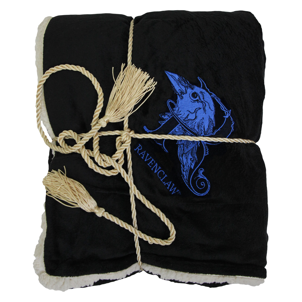 Ravenclaw™ Ornate House Crest Blanket