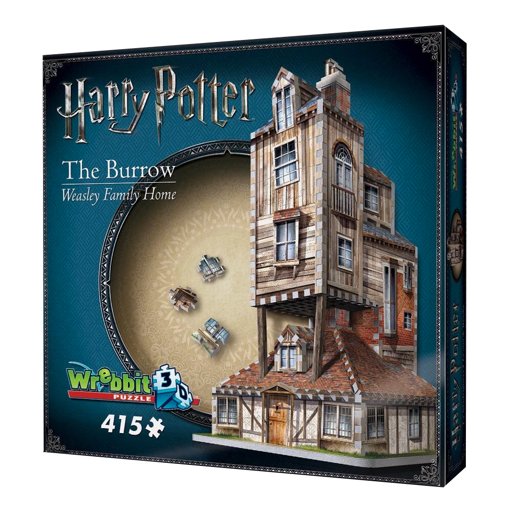 The Burrow Weasley Family Home 3D Jigsaw Puzzle