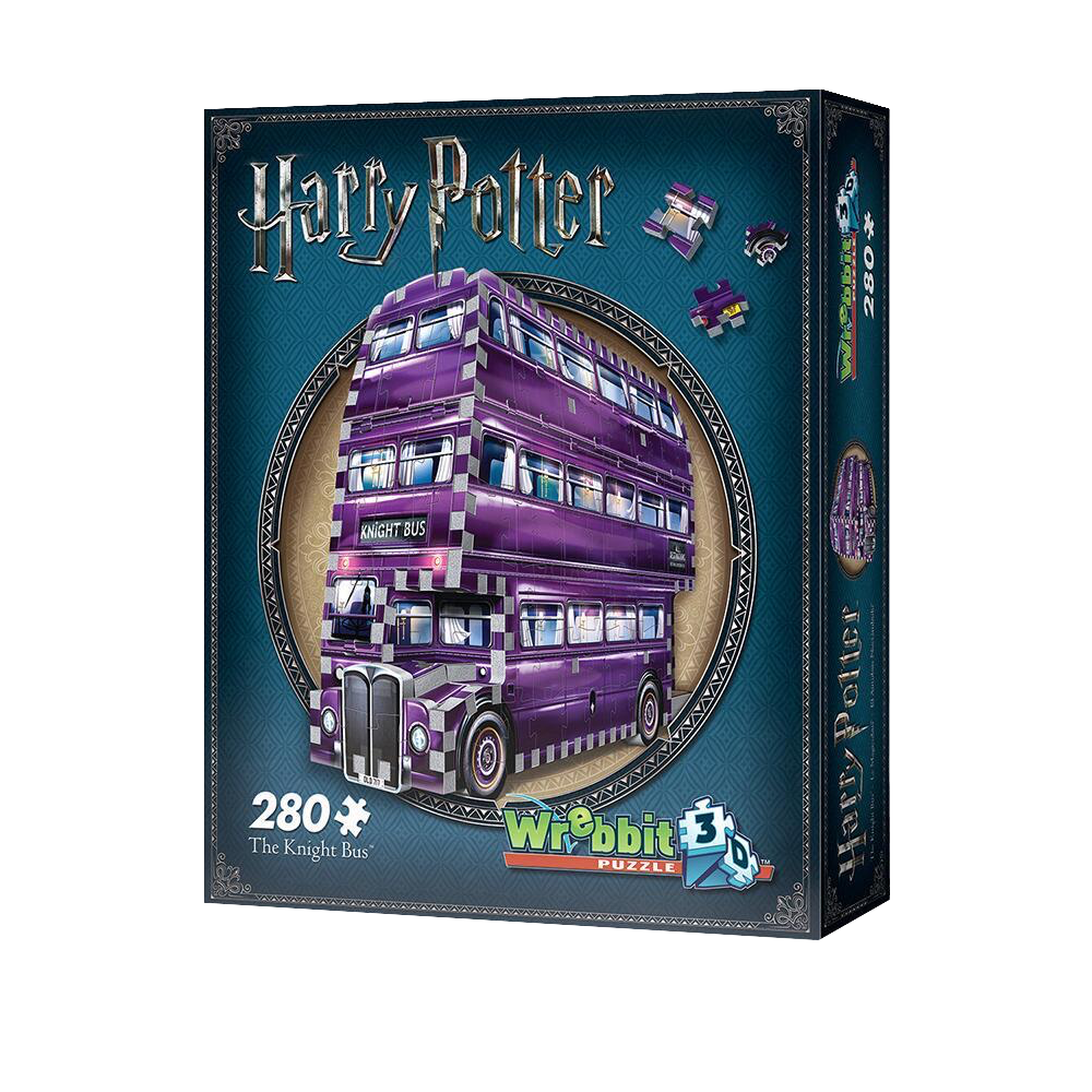 The Knight Bus™ 3D Jigsaw Puzzle