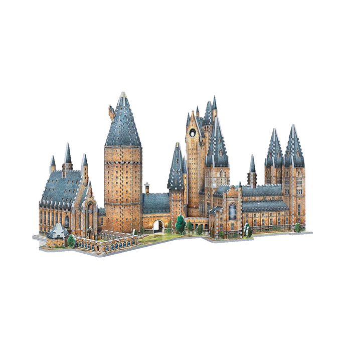 Hogwarts™ Great Hall & Astronomy Tower 3D Jigsaw Puzzle Set