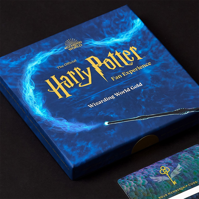 The Official Harry Potter Fan Experience: Wizarding World Gold Gift Box