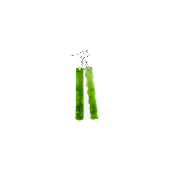 Long Square Roimata Earrings
