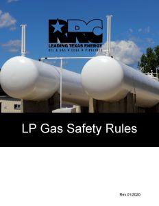 2020 LP Gas Safety Rules from the RRC Available