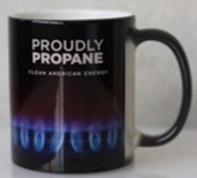 DISCONTINUED - WAS $9.50 NOW 7.50! Proudly Propane Mug