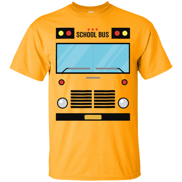 School Bus Halloween Costume T-Shirt