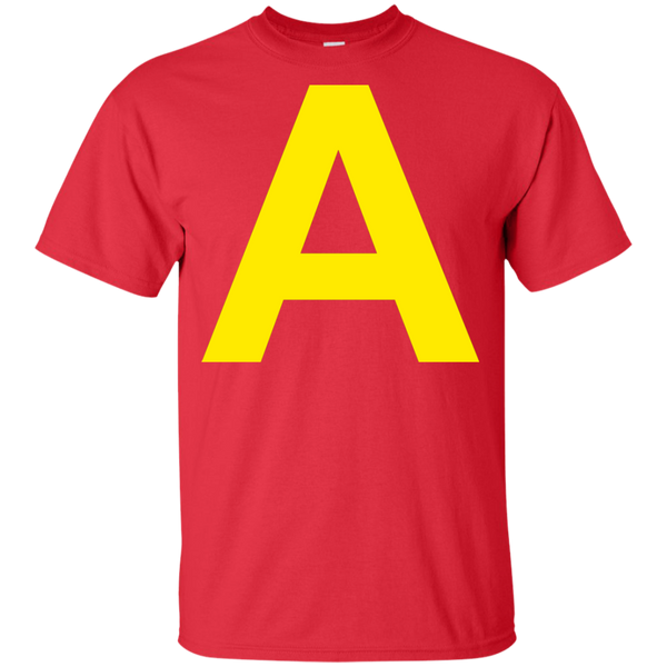 A Letter Alvin Halloween Costume Chipmunks Youth Kids T-Shirt