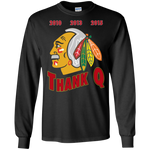 Thank Q Coach Chicago Blackhawks Long Sleeve Shirt