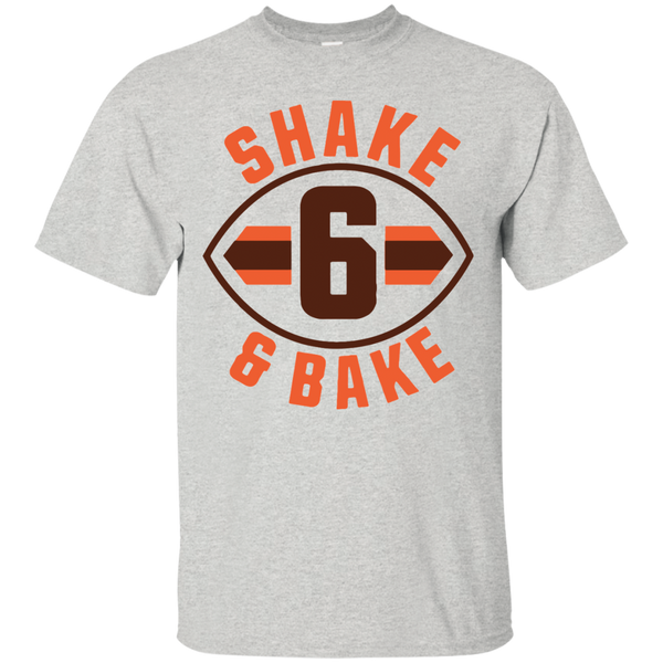 Baker Mayfield Shake and Bake Cleveland Football T-Shirt