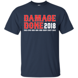 Damage Done Red Sox T-Shirt