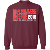 Damage Done Red Sox Sweatshirt