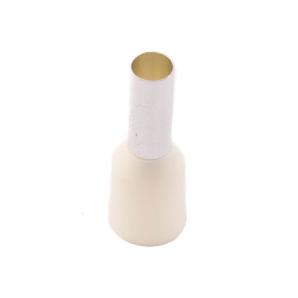 SWA 10.0mm Insulated Bootlace Ferrule (Ivory) - Pack of 100 (10-12IBLF-K)