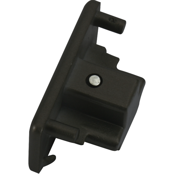 Knightsbridge Single Circuit Track Dead End Cap - Black (TRKDEBK)