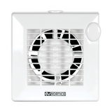 "Vortice M 100/4"" T - Residential Axial Fan with Timer (11211)"