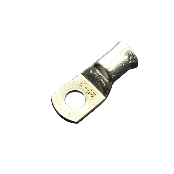 25mm² Copper Tube Lug 5mm Stud Hole (CL25-5)