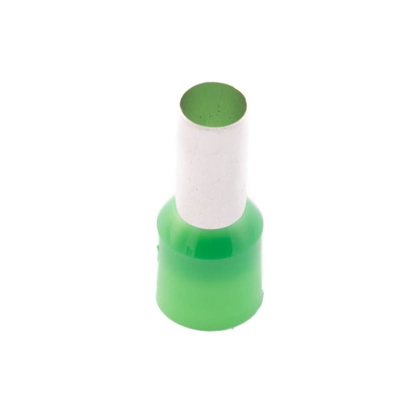 SWA 16.0mm Insulated Bootlace Ferrule (Green) - Pack of 100 (16-12IBLF/K)