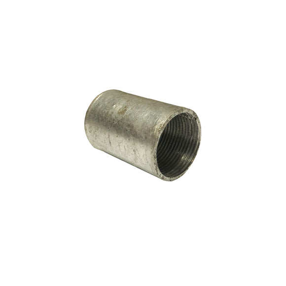 20mm Galvanised Solid Coupler (20SCG)
